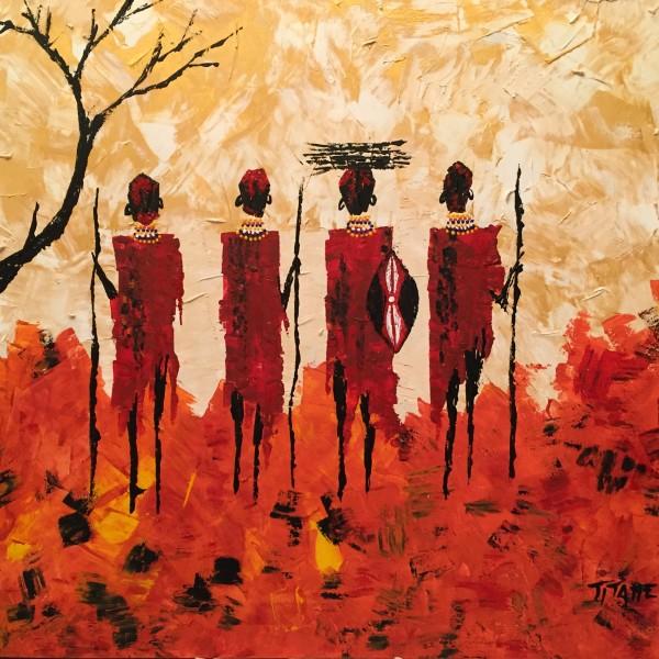 Guerriers Massais